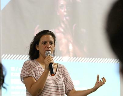 """""""Meu Corpo É Político"""" com a diretora Alice Riff."""