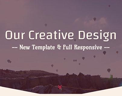 AERO. Responsive Web App