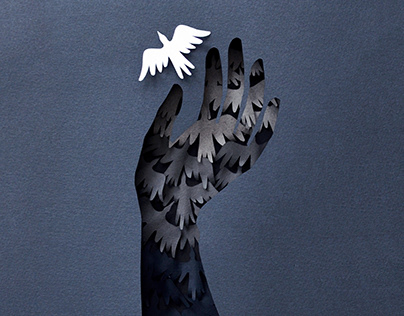 Freedom | paper art