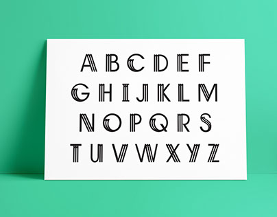 Type Design for Magazine Masthead