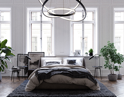 Apartment in Paris - Bedroom design