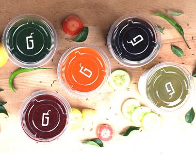 GHOONT- Vegetable/Herbs Juice Center (Branding)