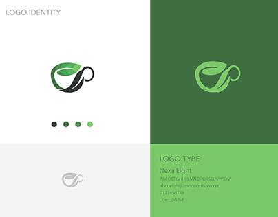 Logo for Green tea company.