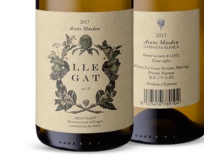Llegat | Packaging de Vinos