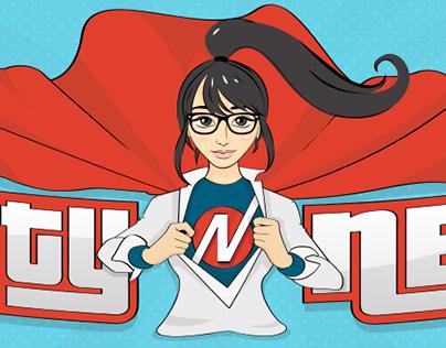 Angsty Nerd - Logo Design, Banner Design, Look&Feel