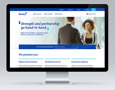 Sentry insurance website