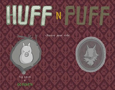 Huff n' Puff - Fighting game