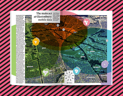 WIRED UK - The Main Act at Glastonbury: Mobile Data
