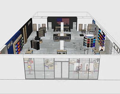 Soffe Retail Store Branding & Advertisements