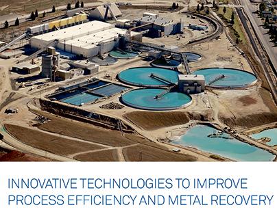 Kemira / Mining industry print ad / Copy and layout