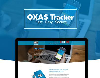 QXAS Tracker Webpage