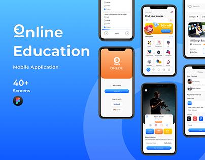 ONEDU - Online Education App