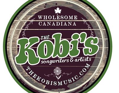 The Kobi's - Wholesome Canadiana Logo