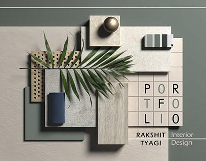 Interior Design Portfolio: Rakshit Tyagi