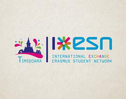 The branding of ESN Timisoara
