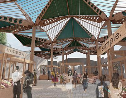 U.I. Materialidad y Diseño: Cubierta Plaza Concordia