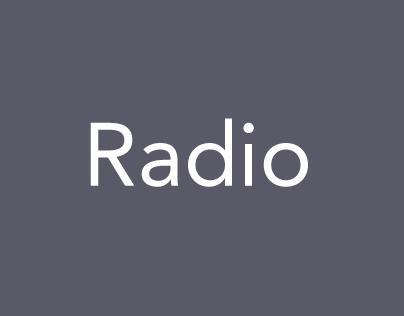 Radio script writing