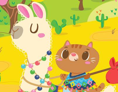 Llama & The Kitty Cat