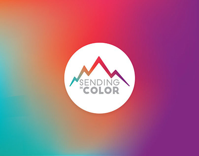 Sending in Color Brand Identity Design
