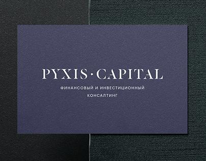 Pyxis Capital brand identity