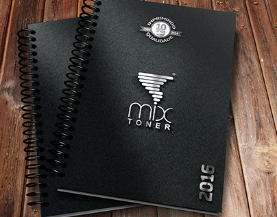 Mix Toner - Criação de Layout para Agenda