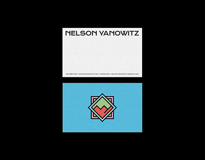 Nelson Yanowitz   Personnal Branding & Logo Design