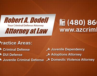 Robert Dodell Attorney - Website Design,Social Graphics