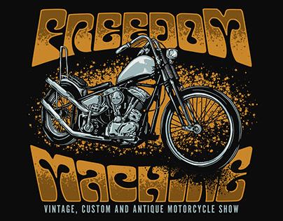 Freedom Machine 2018 Illustration