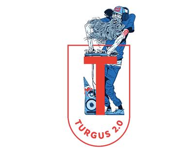 Logo for the street market