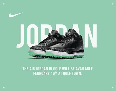 Golf Town - Jordan III Golf Shoe Email