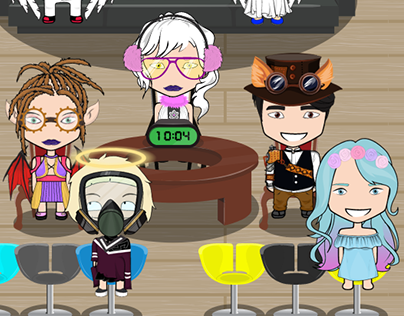 Clothing and hairstyles for avatars
