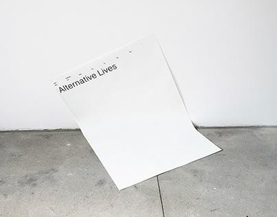 ALTERNATIVE LIVES CALENDAR 2021
