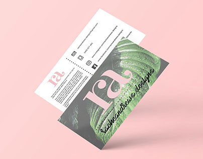 Racheandrews.designs Business Cards