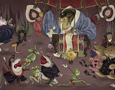 The story of Catfish and Toad - Thiện và Ác và Cổ tích