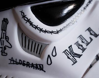 You Rebel Scum — Custom Stormtrooper Helmet