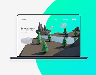 Navimi App & Homepage