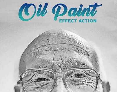 Oil Paint Effect Action for Photoshop