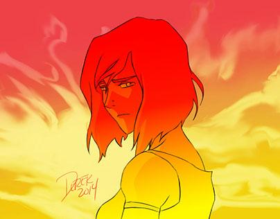 Korra in the Spirit Nexus