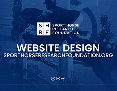 Sport Horse Website Design