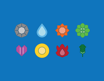 Pokémon Gym Poster Illustration Series: Kanto (Gen.1)