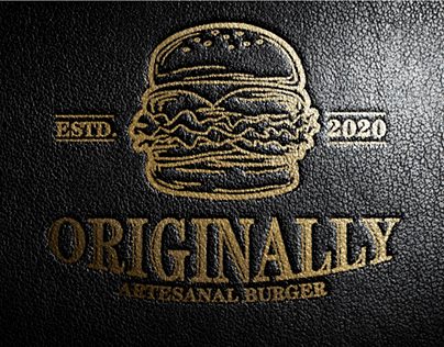 IDENTIDADE VISUAL ORIGINALLY BURGER