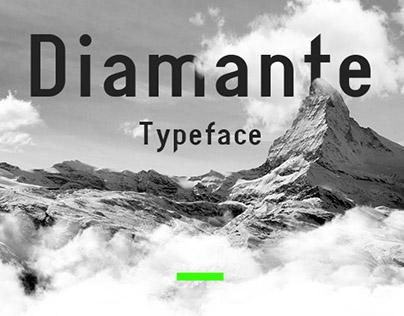 Diamante typeface