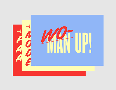 A feminist tale | Set of postcards