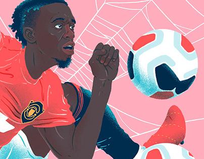 The Spider: Aaron Wan-Bissaka