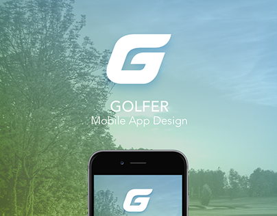 Golfer Mobile App Design