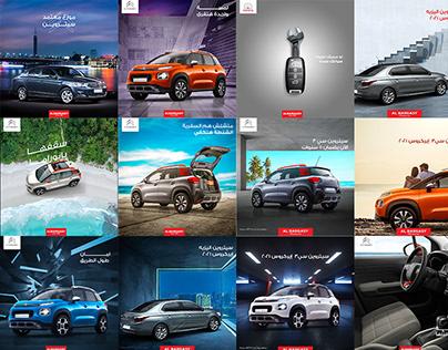 Automotive - Social Media Designs