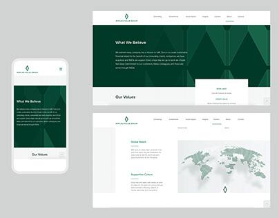 AVG -Website Branding
