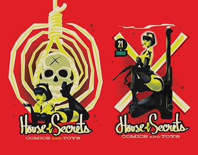 House Of Secrets Prints