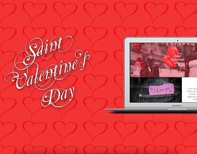 S. Valentine's Day - San Valentino - PSD Project