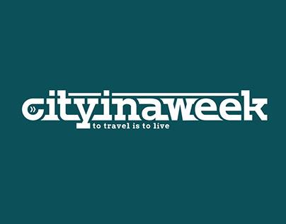 cityinaweek.com Brand Identity